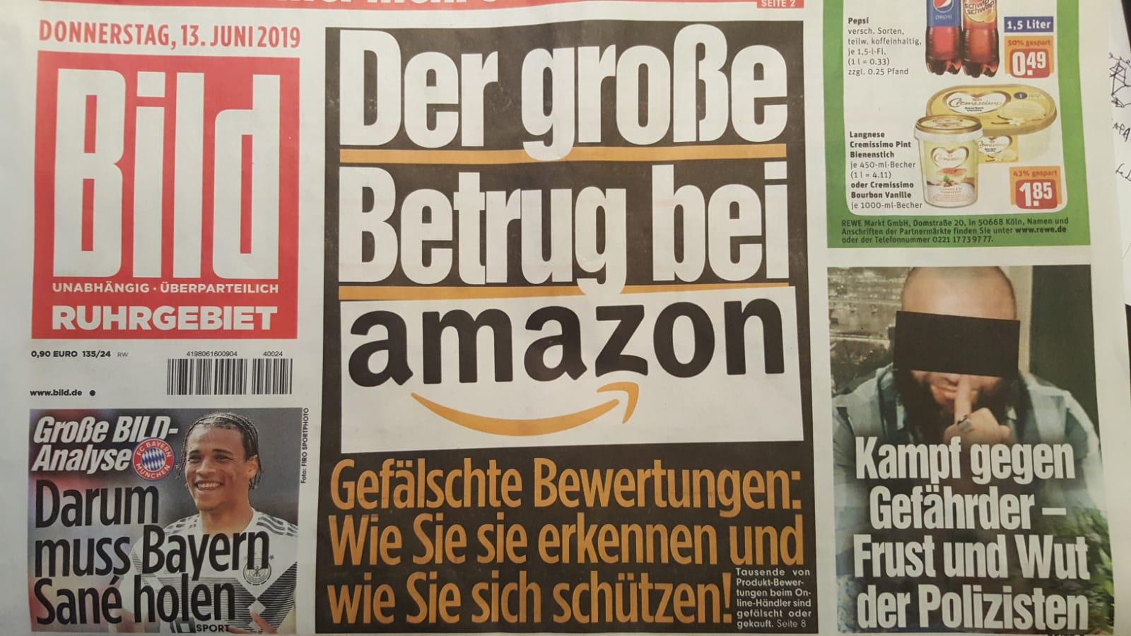 millionenfach Bewertungen bei Amazon gefälscht